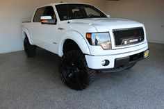 2009 2014 Ford F 150 With 12 Bulletproof Suspension Lift