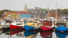 tinganes district, torshavn, faroe islands, denmark.. 2014