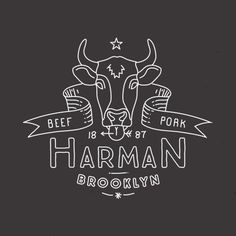 Mathias Temmen / Designer & Art Director - Work - Vintage Butcher Logo