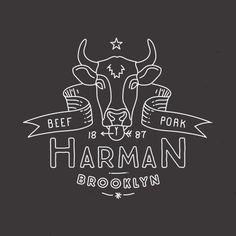 Mathias Temmen / Designer & Art Director - Work - Vintage Butcher Logo