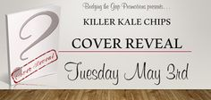 Cover Reveal - Killer Kale Chips by Patrice Lyle