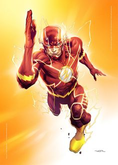 Cartoons And Heroes: Photo The Flash by Felipe Watanabe The Flash 2, O Flash, Flash Art, Flash Comic Book, Comic Books Art, Comic Art, Book Art, Flash Barry Allen, Flash Comics