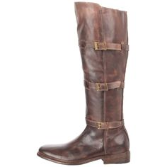 BED:STU Women's Kitty Knee-High Boot brown awesome distress, love. $250.00