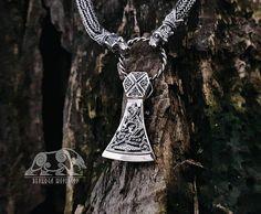 Norse Wikinger der Halskette Original Wolf Kopf Anhänger