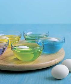 New Uses for Old Things: Holiday Edition - Lazy Susan as Egg Decorating Helper... by www.realsimple.com