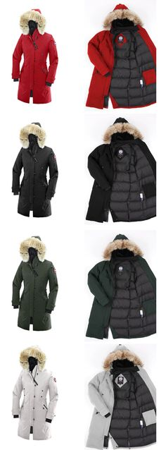 The Canada Goose Women's Kensington Parka keeps you warm and insulated without adding unnecessary bulk. This long and slim fitting women's parka has a shell made with Canada Goose's 195gsm Arctic-Tech and cotton blend with DWR, is filled with 625 fill power white duck down, and lined with a 55gsm water-proof Nylon-weave to keep your body heat inside the coat. The 2-way adjustable down hood is fleece lined and has a removable coyote fur cuff for added face protection and versatility.