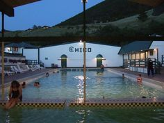 Chico Hot Springs, Montana