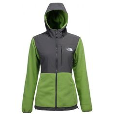 The North Face Women's Denali Hoodie Green
