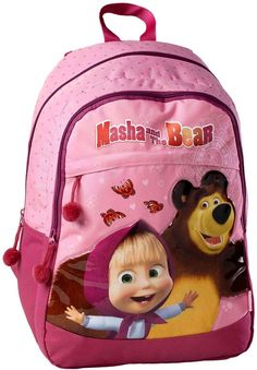 MASHA AND THE BEAR backpack I Large