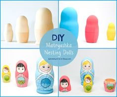 images about Matryoshka Russian Dolls