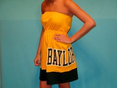 Baylor Bears GameDay Dress  Love My Game Dress by LoveMyGameDress, $45.00