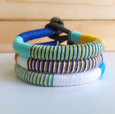 $7.50   Beach Accessories Thread Bracelets   Want some cute bracelets to match your beach outfits this summer? Pick your own colors and mix and match these bracelets to complete your summer look! Visit my page to see more color combinations!