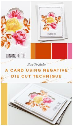 Another inspiring work by one of our creative designers. Today, she'll give you tips and tricks to create a simple and clean card using the negative die cut technique. To learn the creative process, visit our blog. www.altenew.com