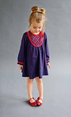 Lali Kids Audrey Dress - Navy
