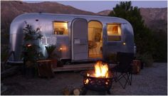 Warning: This super-chic #airstream in Big Sur likely to inspire #wanderlust, limit productivity.
