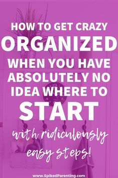How to Get Organized When You Don't Know Where to Start is part of Organization Tips To Get - Tips and tricks on how to get organized when you don't know where to start Because let's face it, getting started is the hardest part Home Organization Hacks, Organizing Your Home, Closet Organization, Organizing Ideas, Organising Hacks, Household Organization, Classroom Organization, Home Management, Konmari