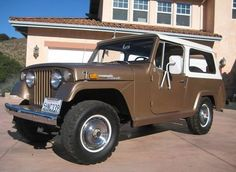 11/15/2008 Update: This Jeepster sold for $8099.99 with 11 bidders. That is a cool truck for the money.  From 11/12/2008:  This 1970 Jeepster Commando is being offered by the second owner who has had the car since 1981. It is remarkably original, with the only modifications being a dual exhaust