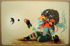 Mexico City-based artist El Curiot... | gazette inspiration collector / the blog