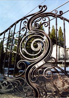 Cattail Reed Estates Entry Gates Fencing