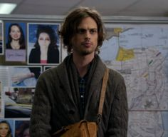 Matthew Gray Gubler as Dr. Spencer Reid.