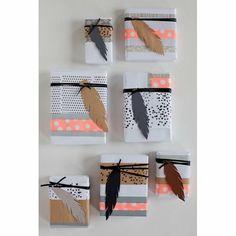 Un emballage cadeau dynamisant - Marie Claire Maison