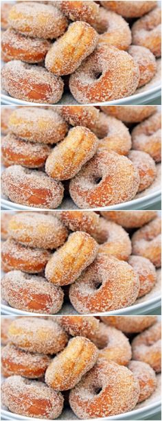 Sweet Recipes, Cake Recipes, Dessert Recipes, Cinnamon Sugar Donuts, Portuguese Recipes, Yummy Cakes, Food Inspiration, Food Porn, Food And Drink