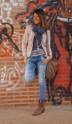 print jeans                                                                                                                                                                                 Más