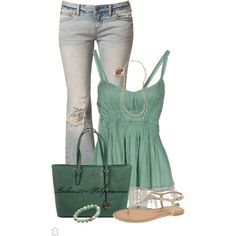 Ready For Summer, created by latkins77 on Polyvore