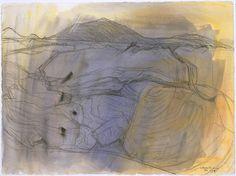 Buy Wilhelmina Barns-Graham's Lava Movement, La Geria from just Tate Custom Prints - quality art prints on demand. Action Painting, St Ives, Gcse Art, Textile Artists, Drawing Techniques, Landscape Paintings, Landscapes, Painting Inspiration, Graham