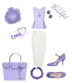 Sweet Lavender by Diva of Cake  featuring polyvore fashion style Diane Von Furstenberg Rick Owens Miu Miu Coccinelle Roberto Coin Belk & Co. clothing
