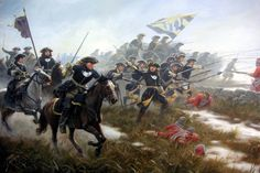 Battle of Fraustadt, Great Northern War - Charge of the Swedish army