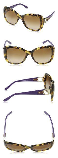9d2a924a6f8 Ralph Lauren RL8108Q Sunglasses-500313 Dark Havana (Brown Gradient Lens)- 56mm