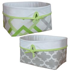 fabric baskets will not scratch furniture