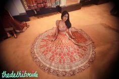 Anita Dongre - what a beautiful wedding dress Indian Bridal Lehenga, Wedding Lenghas, Asian Wedding Dress, Pink Lehenga, Anita Dongre, Indian Couture, Indian Outfits, Indian Clothes, Indian Dresses