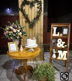 Wedding Cake Table Decorations, Decoration Table, Birthday Decorations, Home Wedding, Rustic Wedding, Ideas Aniversario, Simple Weddings, Home Decor Bedroom, Wedding Favors