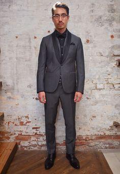 Hilton Shawl Collar Tuxedo: $898 Eterna Shirt: $ Haight & Ashbury Pocketsquare: $ Dion Bow Tie: $95 Denison Boston Floral Black Scarf: $140 ...