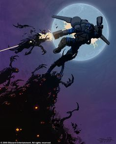 StarCraft Terran Reaper  http://samwisedidier.deviantart.com/art/StarCraft-Gotcha-450385089