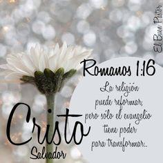 YO SOY EL BUEN PASTOR: Romanos 1:16