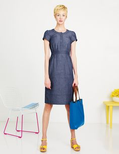 Weekender Dress Love the dress and hair. Boden dress got bad reviews on their website unfortunately