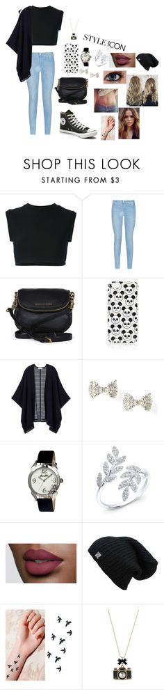 """Untitled #41"" by glittergirl155 on Polyvore featuring adidas Originals, 7 For All Mankind, Michael Kors, Topshop, Tory Burch, Bertha, Betsey Johnson, Converse, women's clothing and women's fashion"