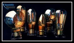 Bombillas #LED marca Bell. No renuncie al diseño #vintage ni a la última tecnología.