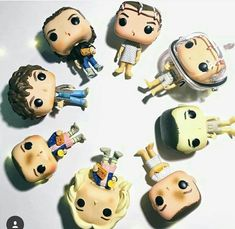 I've got the both the el with eggos without the wit and the plain el in the hospital gown Serie Stranger Things, Stranger Things Funko Pop, Stranger Things Netflix, Pop Figurine, Funk Pop, Pop Dolls, Funko Pop Vinyl, Bobby Brown, Best Shows Ever