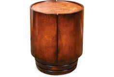 Anza Drum End Table on OneKingsLane.com