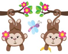 girl pink monkey - Buscar con Google