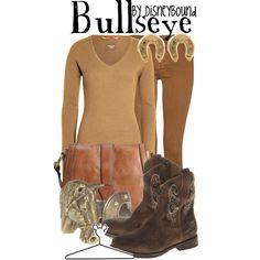 """""""Bullseye"""" by lalakay on Polyvore #disney"""