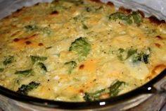 Broccoli Rice and Cheese Casserole