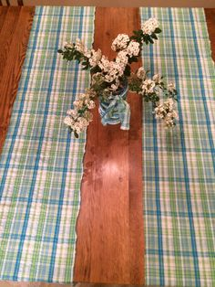 Gingham Check Table Runner {I Have A Serious Country Addiction To Gingham.  Ahem} | For The Home | Pinterest | Gingham Check, Pottery Barn Table And  Barn ...
