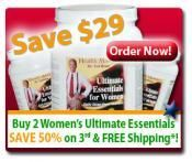Ultimate Essentials for Women 3-Pack Special | Health Masters
