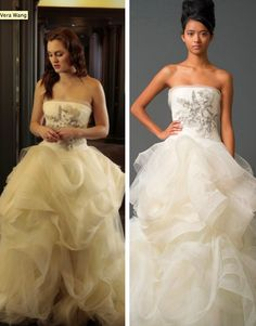 Wedding dress from gossip girl - look at those amazing folds!