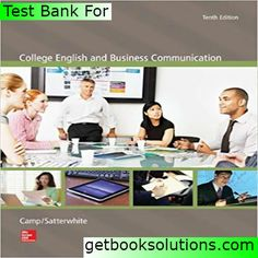 Solutions manual for essentials of managerial finance 14th edit test bank for college english and business communication edition by camp satterwhite solutions manual and test bank for textbooks fandeluxe Images